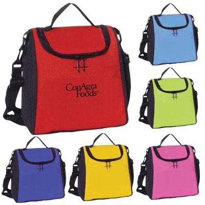 Two Tone Polyester Lunch Bag