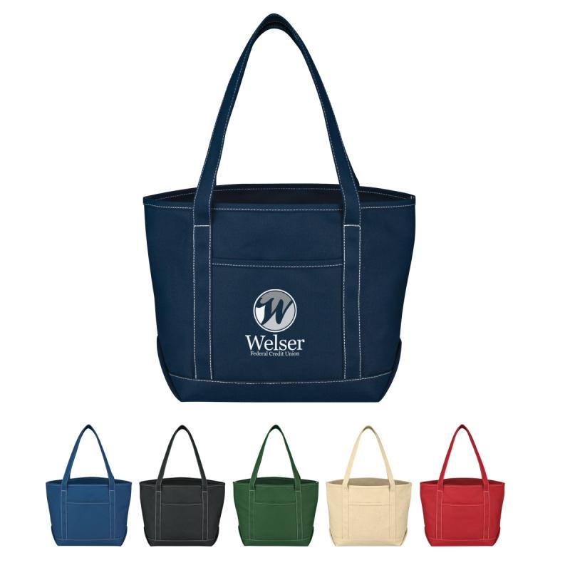 Medium Cotton Canvas Yacht Tote