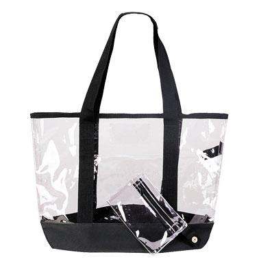 Clear Tote With Coin Purse