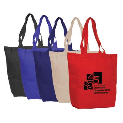 Market Square Canvas Tote