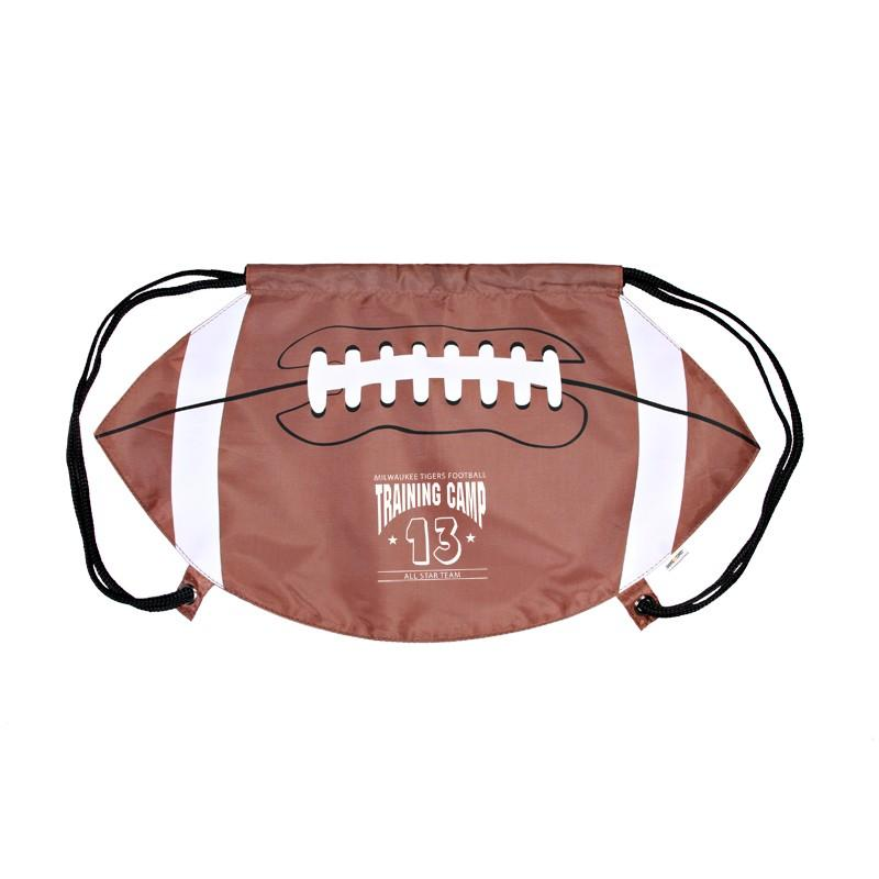 GameTime!™ Football Drawstring Backpack