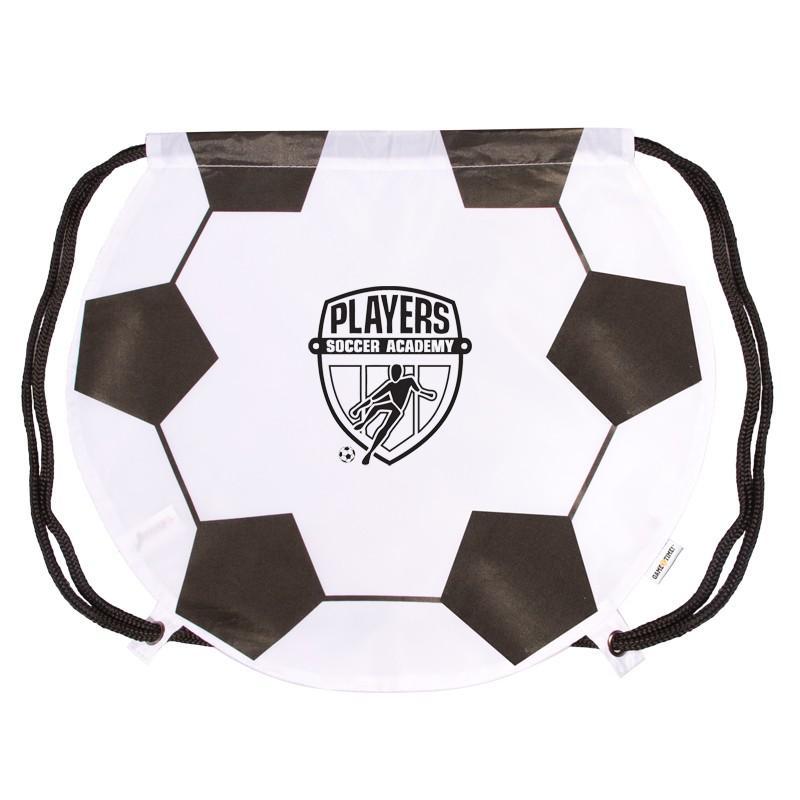 GameTime!™ Soccer Ball Drawstring Backpack