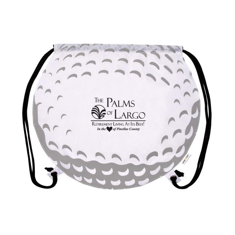GameTime!™ Golf Ball Drawstring Backpack