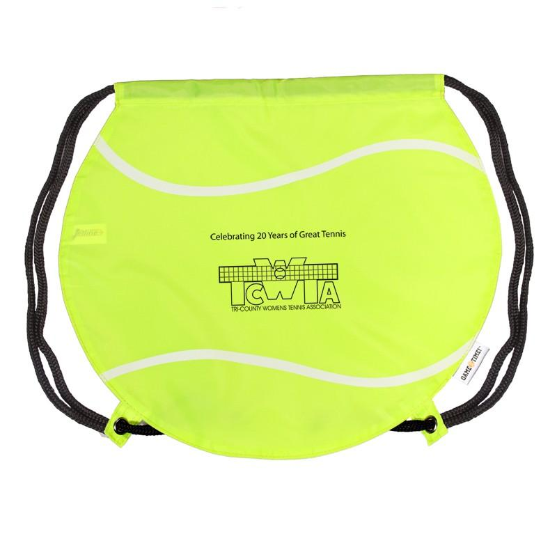 GameTime!™ Tennis Ball Drawstring Backpack