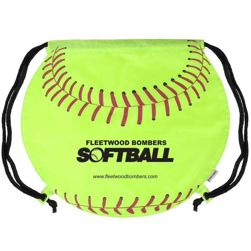 GameTime! ® Softball Drawstring Backpack