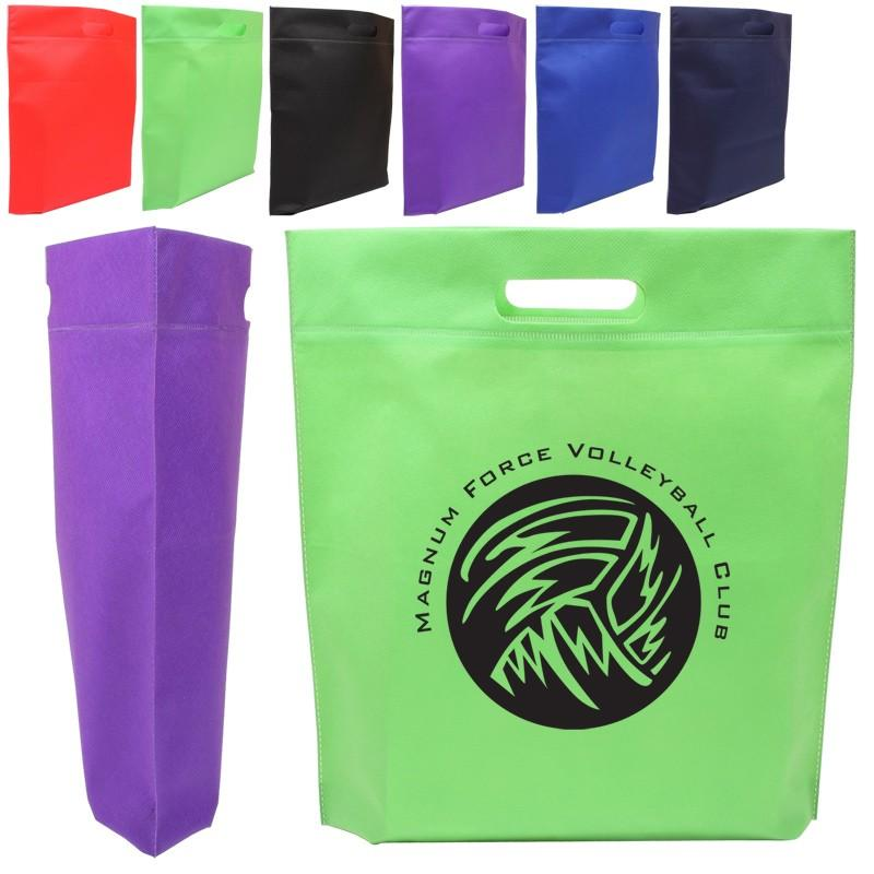 Die Cut Handle Tradeshow Nonwoven Tote Bag