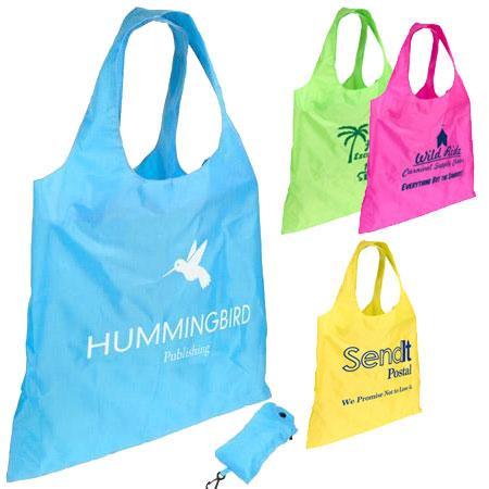 Spring Sling Folding Tote Bag