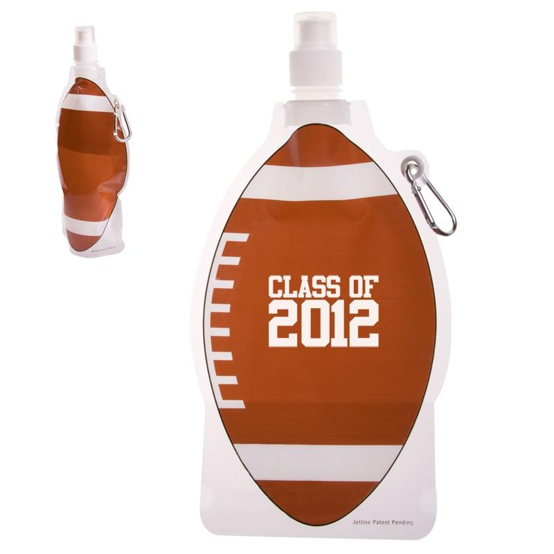 HydroPouch!™ 16 oz. Deluxe Football Collapsible Water Bottle