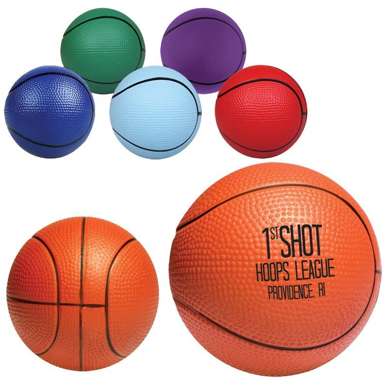 Mini Basketball Stress Ball