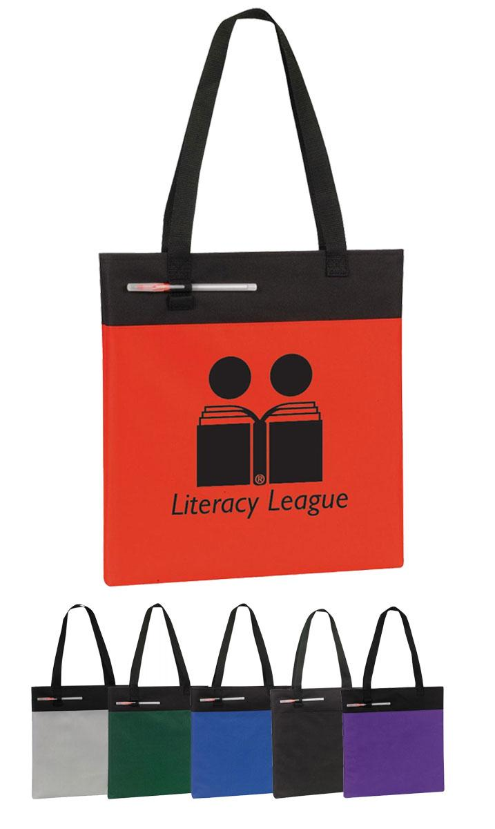 Event Tote with Pen Holder