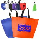 Two Tone Heat Sealed Nonwoven Shopper Tote