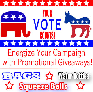 Campaign promotional giveaways